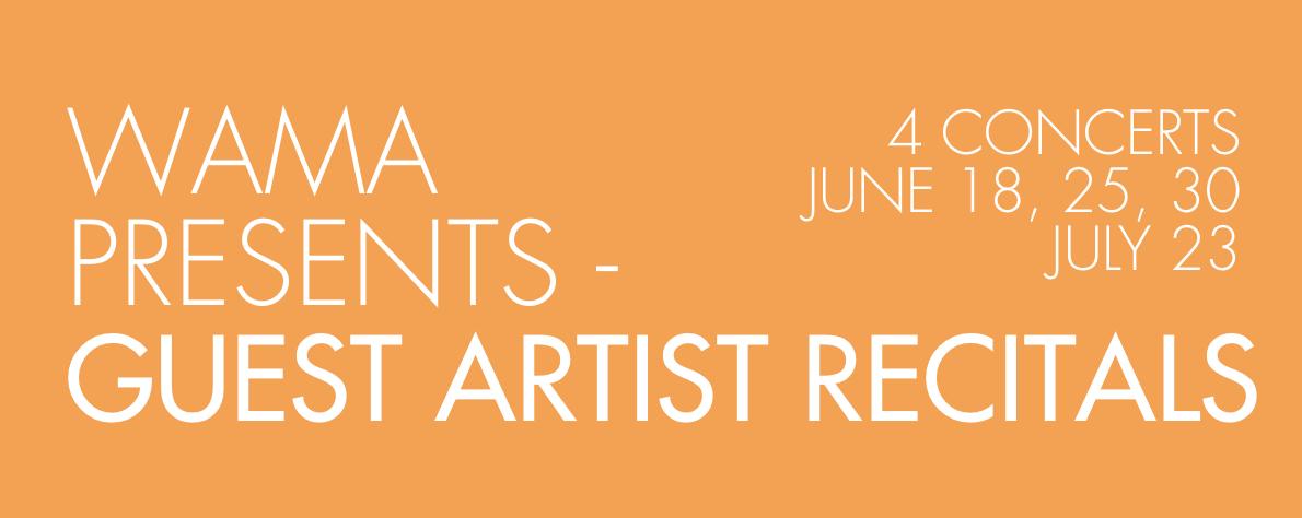 WAMA-Guest Artist Concerts