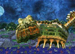 """Gaudi's Cat"" by Amy Edgington"